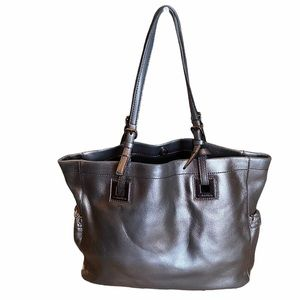 Calvin Klein Steel Leather Tote